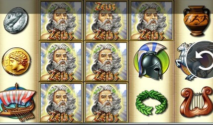 Zeus Slot screenshot 3