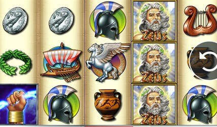Zeus Slot screenshot 2