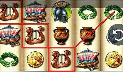 Zeus Slot screenshot 1